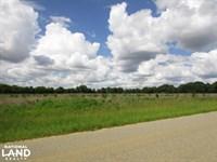 Stewart 5.5 Acre Farmland / Homesit : Lumpkin : Stewart County : Georgia