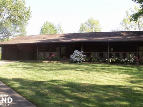 Mountain Creek Home & Retreat : Fruithurst : Cleburne County : Alabama