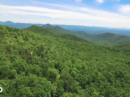 Virginia Mountain With Trout Stream : Eagle Rock : Botetourt County : Virginia