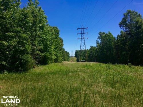 Chester Homesite And Hunting Land : Chester : South Carolina