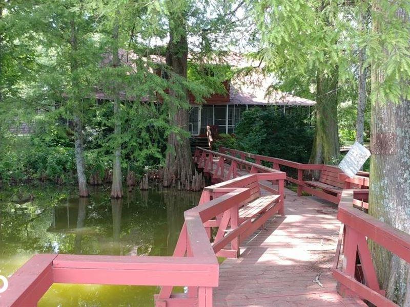 5 Acre Homestead With Lake Frontage : Scott : Lonoke County : Arkansas