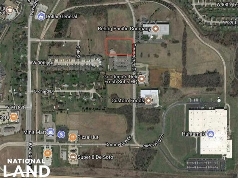Commerce Drive Commercial Property : De Soto : Johnson County : Kansas