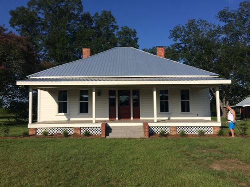 Farm And Renovated House : Meigs : Mitchell County : Georgia