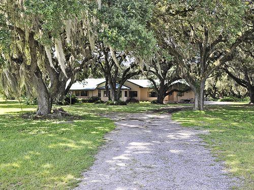 Kissimmee River Homestead : Lake Wales : Polk County : Florida