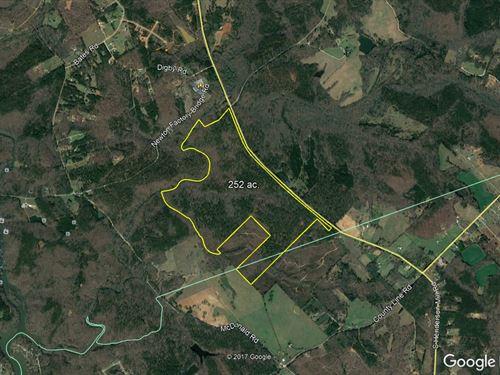 252 Acres In Newton County, Ga : Covington : Newton County : Georgia