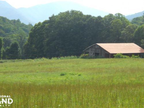 Spectacular Farmland Adjacent to NC : Green Mountain : Mitchell County : North Carolina