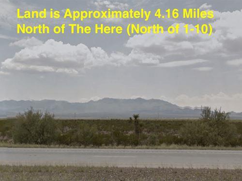 40 Acres - Sierra Blanca, Tx 79851 : Sierra Blanca : Brewster County : Texas