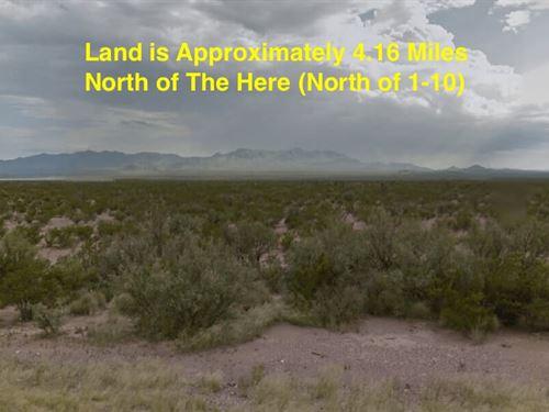 10 Acres - Sierra Blanca, Tx 79851 : Sierra Blanca : Hudspeth County : Texas