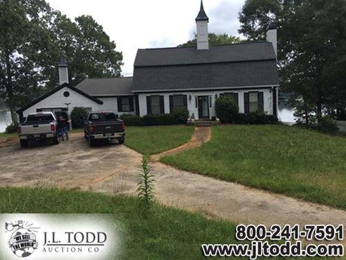 10 Acres Brushy Creek Subdivision Jackson Monroe County Georgia Lakefront Home