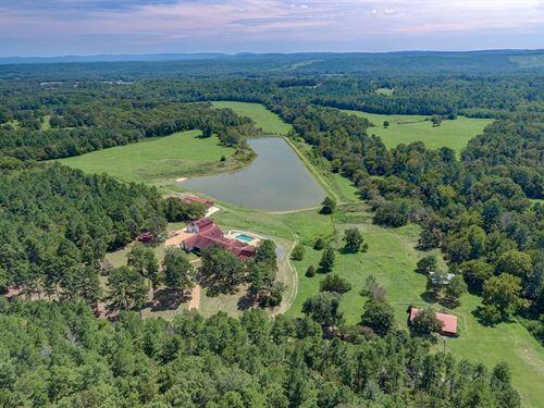 Meyers Creek Ranch On 200 Acres : Bonnerdale : Arkansas County : Arkansas