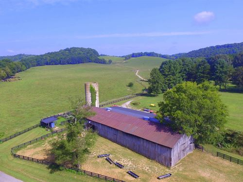 300 Acre Maury County Farm : Culleoka : Maury County : Tennessee