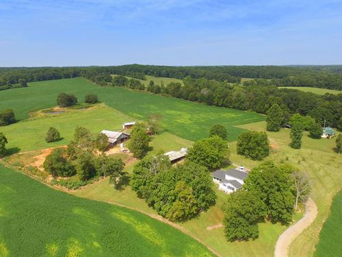 Beautiful Farm On Yellow Creek : Dickson : Tennessee