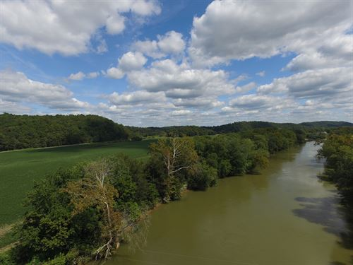 131 Acres Along The Duck River : Hurricane Mills : Humphreys County : Tennessee