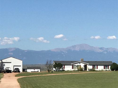 Live. Work. Play: 35 Acre Retreat I : Calhan : El Paso County : Colorado