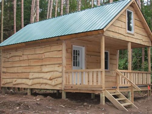 Camp Osceola - Land & Cabin Package : Osceola : Lewis County : New York