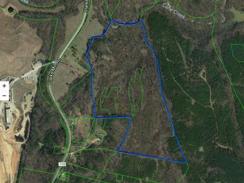 Over 50 Acres In Ringgold Va : Ringgold : Pittsylvania County : Virginia