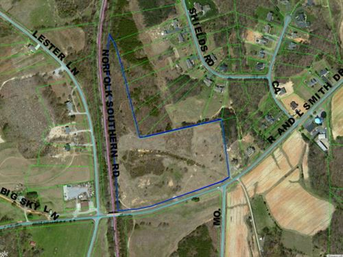 R&L Smith Rd : Danville : Pittsylvania County : Virginia