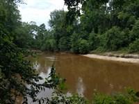 Patsaliga River : Dozier : Crenshaw County : Alabama