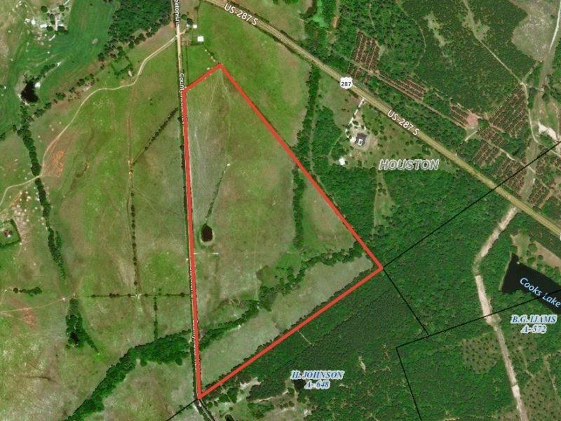 Houston County 90 Hunting Ranch : Crockett : Houston County : Texas
