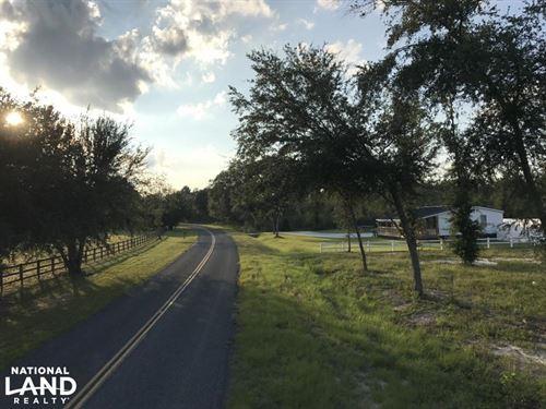 Rock Springs 5-Acre Homestead : Varnville : Hampton County : South Carolina