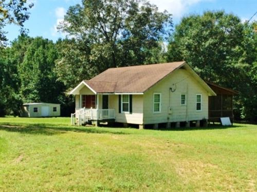 Turnkey Camp And 50 Acres In Wal : Jayess : Walthall County : Mississippi