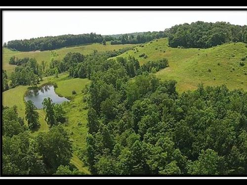 Whitetail Ridge W Pond & Views : Kimbolton : Guernsey County : Ohio