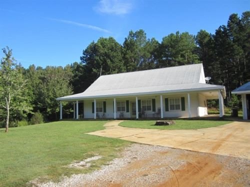 3 Acres W/Home In Lee County : Guntown : Lee County : Mississippi