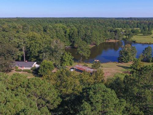 Beautiful Farm, 9Ac Lake : Mansfield : Morgan County : Georgia