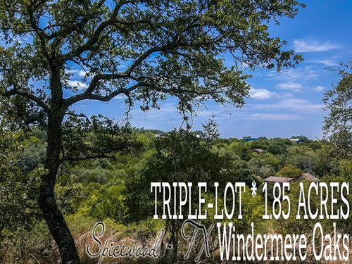 1.85 Acres In Burnet County : Spicewood : Burnet County : Texas