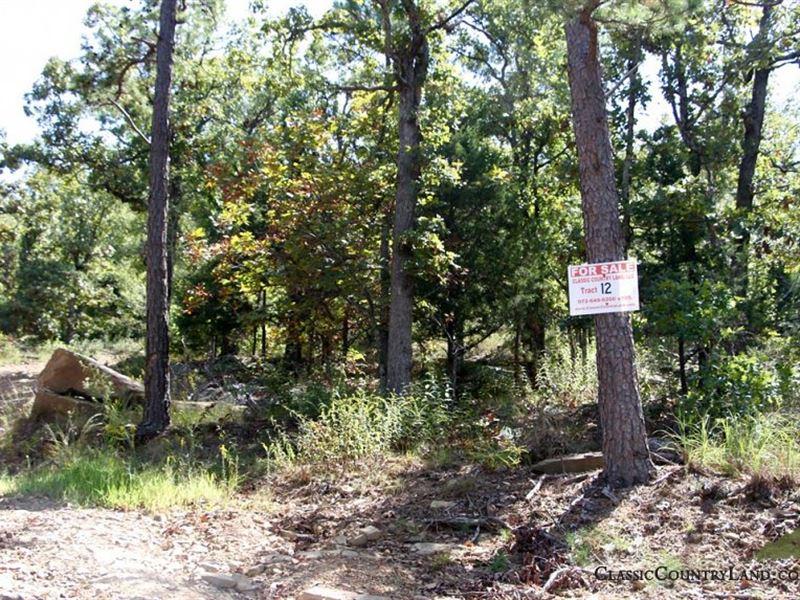 Lakeview Private Reserve Tract 12 : Clayton : Pushmataha County : Oklahoma