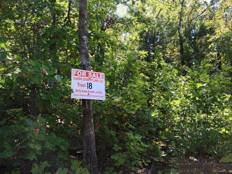 Lakeview Private Reserve Tract 18 : Clayton : Pushmataha County : Oklahoma