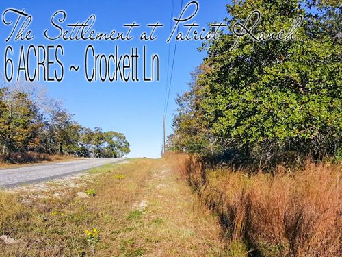 6 Acres In Gonzales County : Luling : Gonzales County : Texas