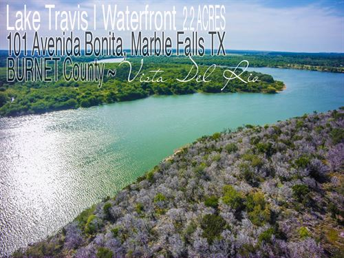 2.22 Acres In Burnet County : Marble Falls : Burnet County : Texas
