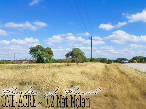 1.02 Acres In Blanco County : Blanco : Texas