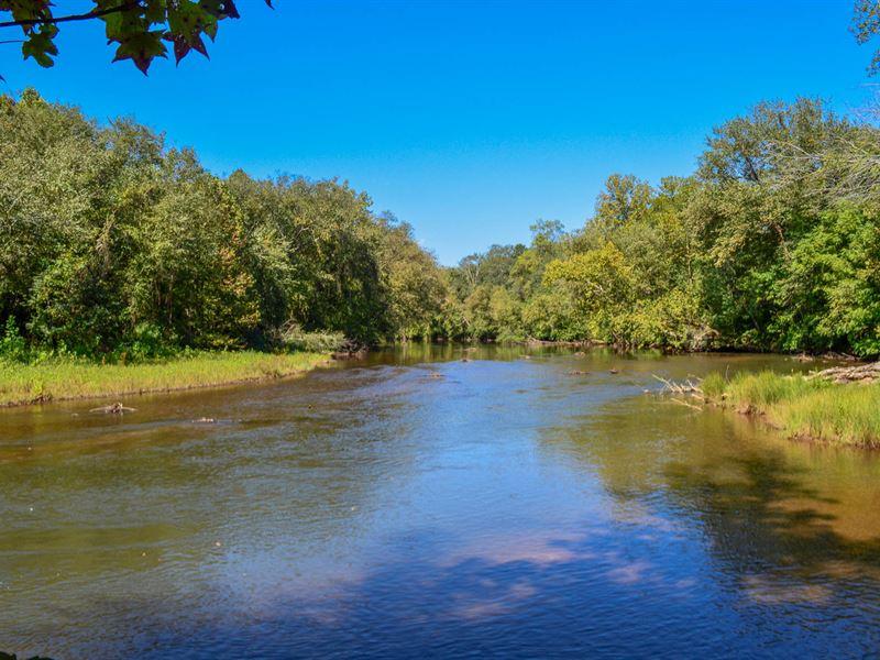 95 Ac. Mixed Use Farm Pacolet River : Spartanburg : Spartanburg County : South Carolina