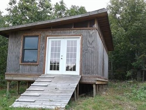 80 Acres, Cabin, Year-Round Spring : Piedmont : Wayne County : Missouri