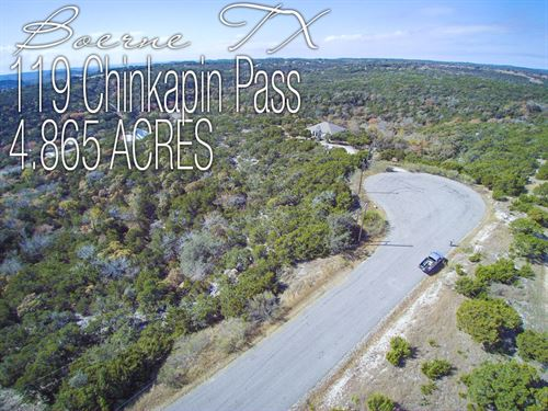 4.87 Acres In Kendall County : Boerne : Kendall County : Texas