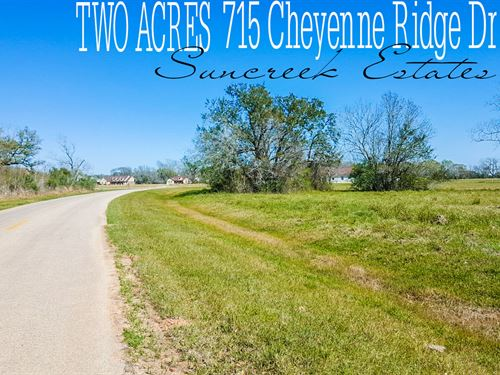 2 Acres In Brazoria County : Rosharon : Brazoria County : Texas