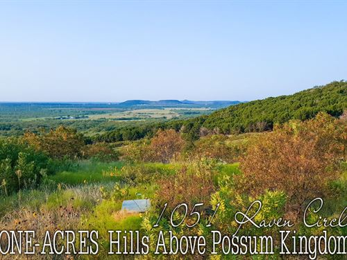 1.01 Acres In Palo Pinto County : Graford : Palo Pinto County : Texas