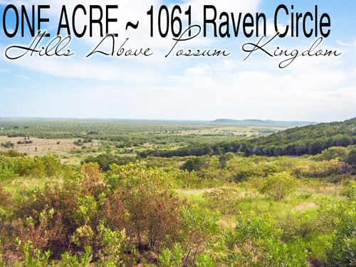 1 Acre In Palo Pinto County : Graford : Palo Pinto County : Texas