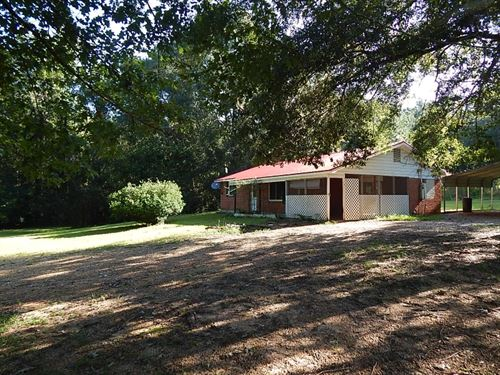 Home & 3 Acres/ Tylertown : Tylertown : Walthall County : Mississippi