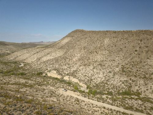 High Desert Rough 40 Acres : Terlingua : Brewster County : Texas