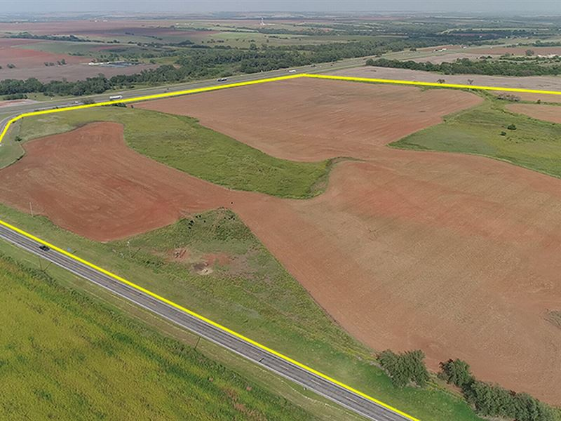 Great Residential & Commercial Site : Hydro : Caddo County : Oklahoma