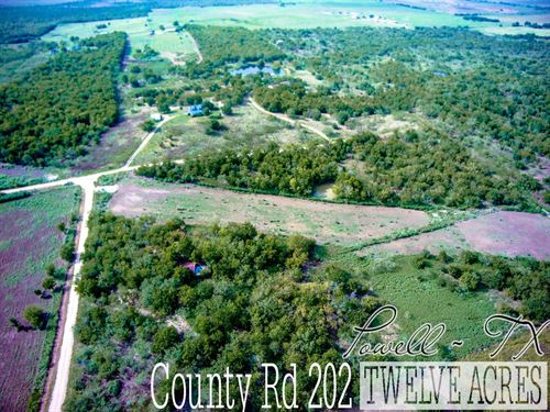 12.01 Acres In Navarro County : Powell : Navarro County : Texas