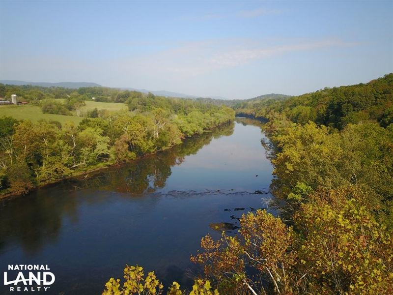 Clinch river trout fishing property land for sale for Clinch river fishing