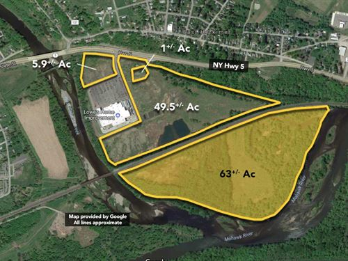 63 ac Lowe's Outparcel. : Herkimer : New York
