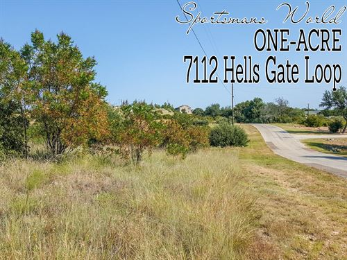 1.02 Acres In Palo Pinto County : Strawn : Palo Pinto County : Texas