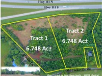 13.5 Acres In 2 Tracts Near Hwy 111 : Sparta : White County : Tennessee