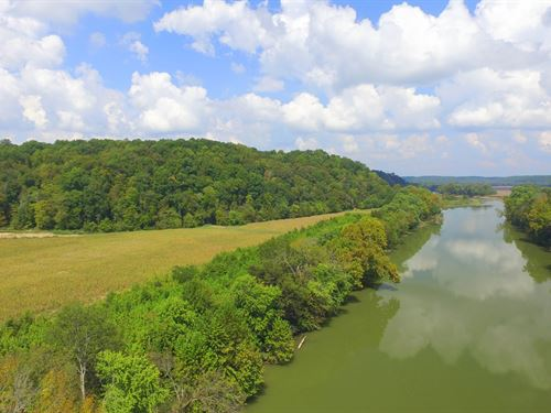 108 Acres Overlooking The Duck Rive : Hurricane Mills : Humphreys County : Tennessee