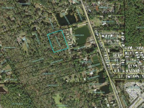 2.5 Acres In Saint Augustine, fl : Saint Augustine : Saint Johns County : Florida